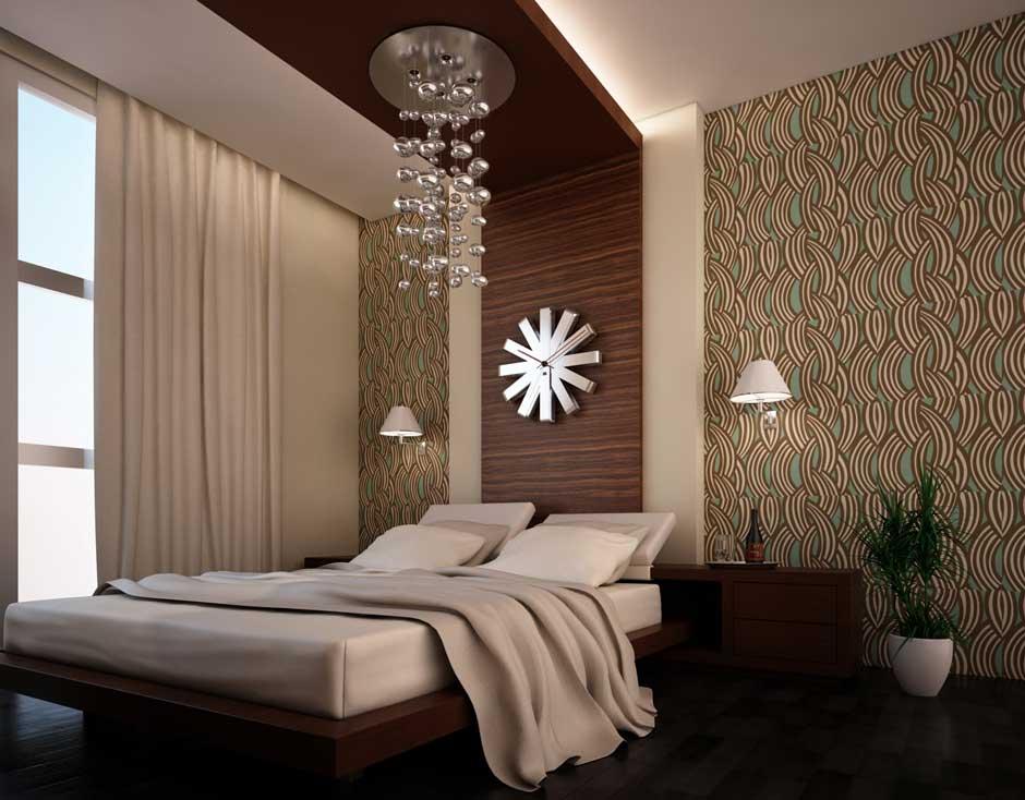 25 original interior wallpaper kamar tidur for Decor kamar tidur