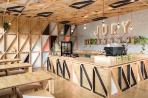 Desain Interior Cafe Unik
