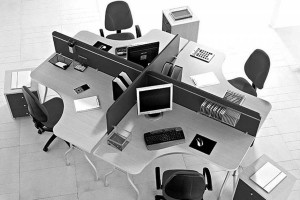 Black-White-Office