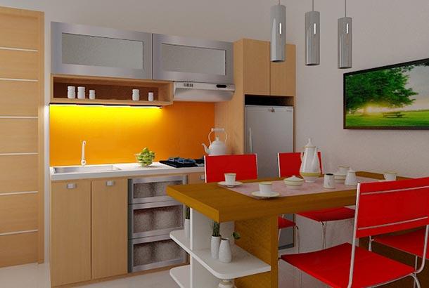 Desain Ruang Makan Sempit