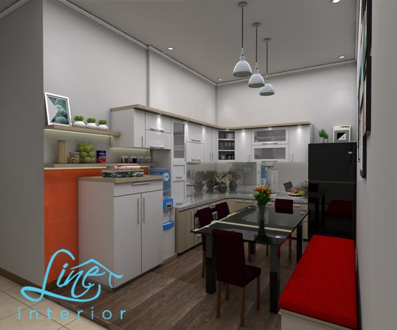 Solusi Dapur Menyatu dengan Ruang Makan