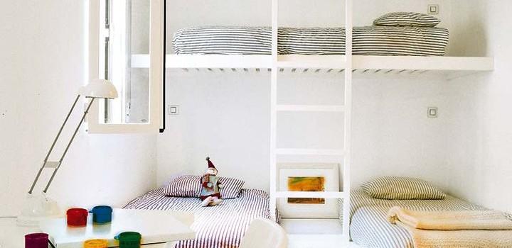 Kid Bedroom Satu Ruang Tiga Anak